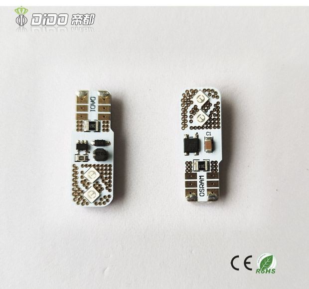 Auto LED Lights T10 4SMD Canbus Osram LED Chip
